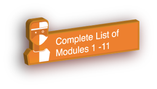 Complete list of Modules 1 to 11